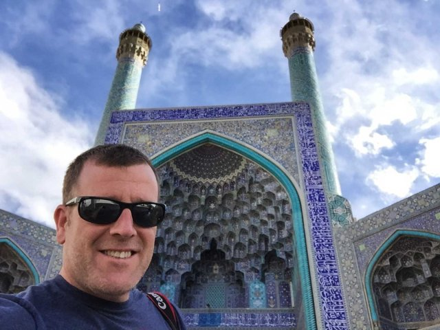 Is Iran safe for tourists - The mosque in Isfahan