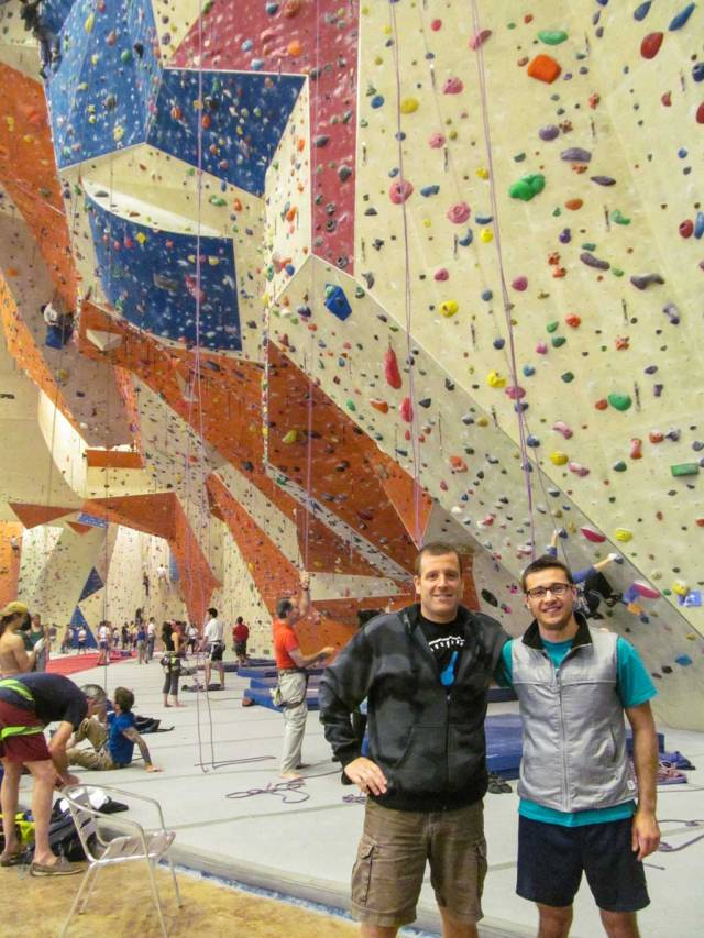 How to be a great Couchsurfing host - With Misha at Stone Summit climbing gym