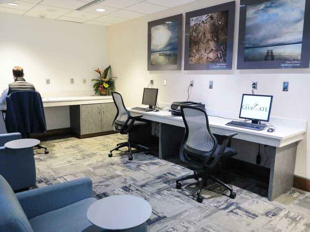Business Center and Workstations