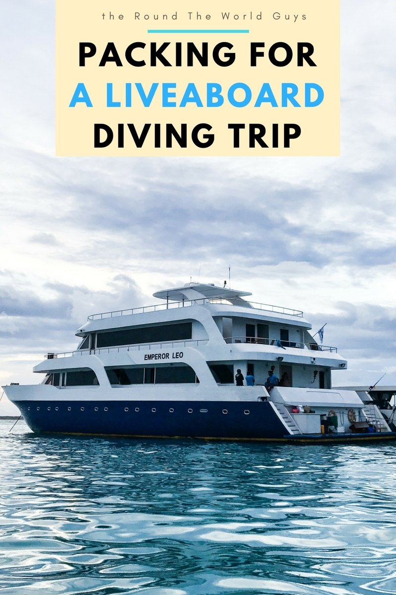 Packing for a liveaboard can be a lot simpler than most people make it out to be. Here's a list of the stuff you need, and DON'T need, on your trip.
