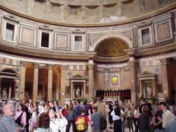roman churches pantheon