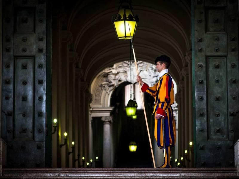 vatican city swiss guard