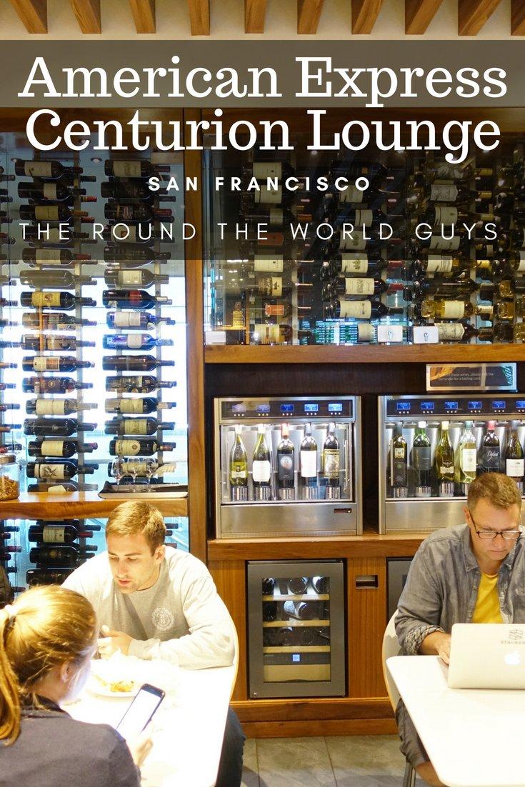 Amex Centurion Lounge SFO Review – San Francisco International Airport