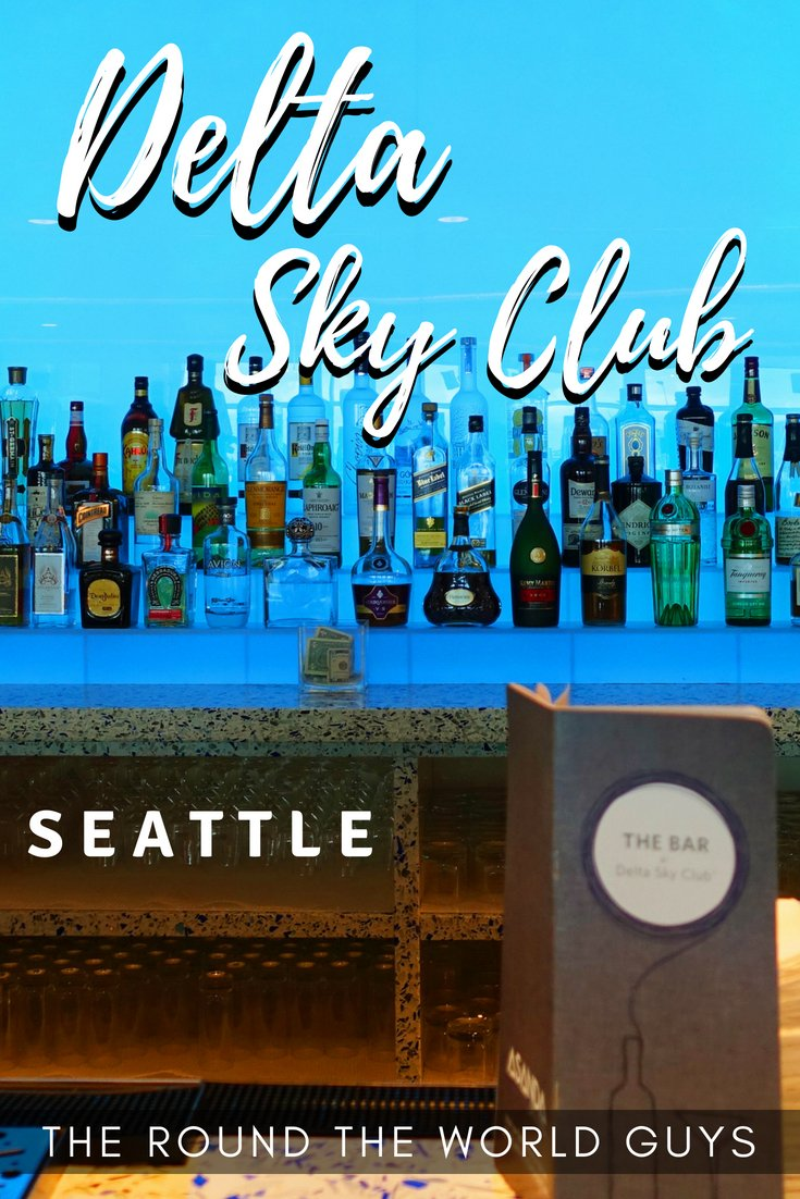 Delta Sky Club in Seattle Tacoma International Airport