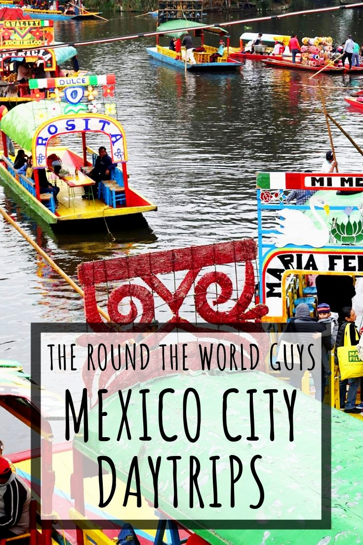 Although there is TONS of stuff to do in Mexico City, sometimes you need a break from the busy city. Here are several Mexico City Day Trips you can take to make your visit to CDMX even more special.  Pyramids, boat trips, colonial churches, and so much more!