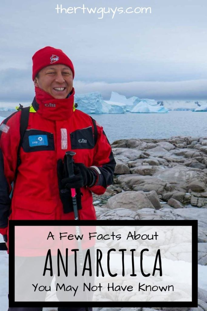 Halef with walking pole antarctica pinterest