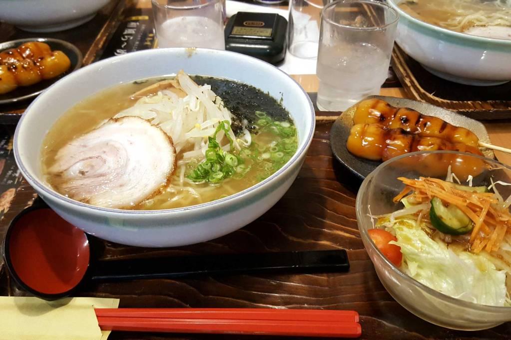A bowl of Ramen Noodles