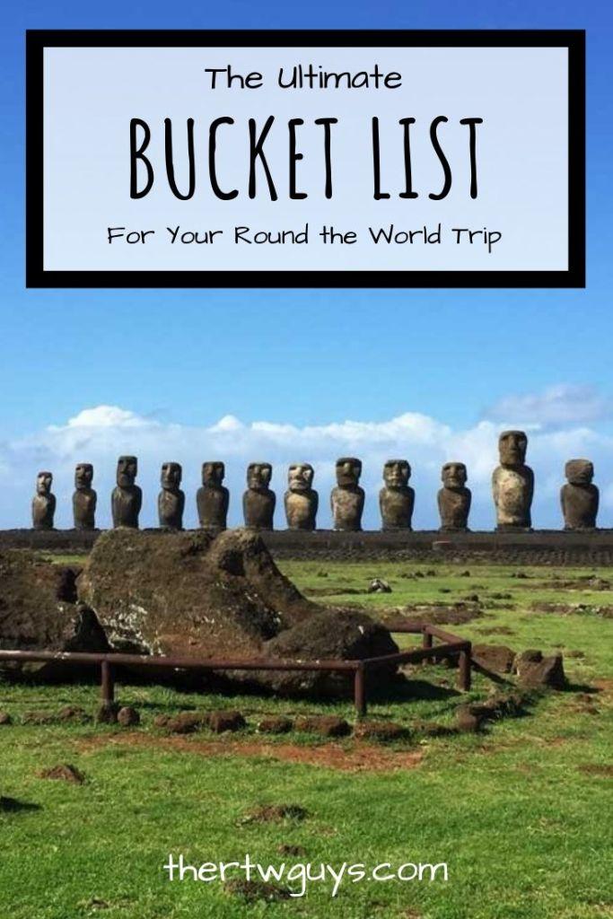 round the world bucket list pinterest