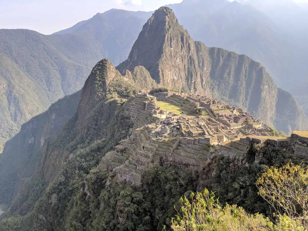 Classic shot of Machu Picchu from above. Machu Picchu can be done as a day trip from Cusco, but we don't recommend it.