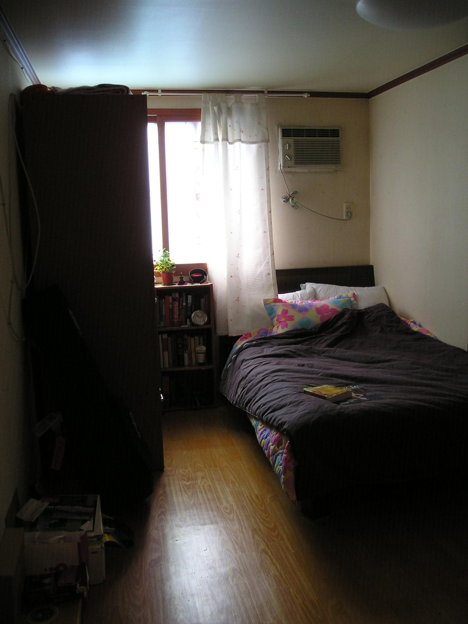 The main room/livingroom/bedroom/closet