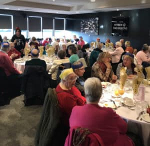 Contact the elderly Christmas party Dec 2017