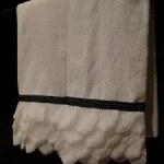 Classy Rose Petal Towels