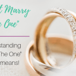 "I Didn't Marry ""The One"""