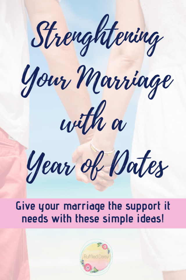 Strengthening your marriage with a year of dates PIN