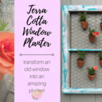 Terra Cotta Window Planter