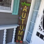 Barn wood Autumn Porch Sign