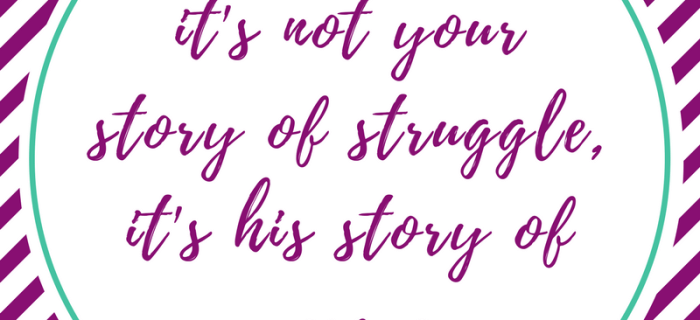 Your Story is HIS Rescue