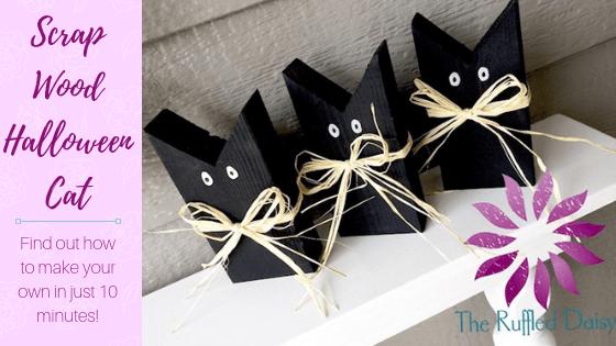 Black Cat Scrap Wood DIY