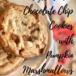 Butterscotch Chocolate Chip Cookies with Pumpkin Marshmallows