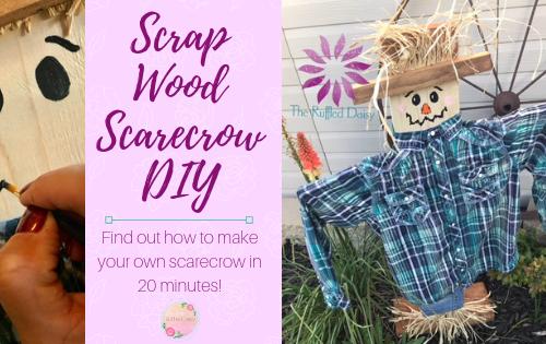Scrap Wood Scarecrow DIY PIN