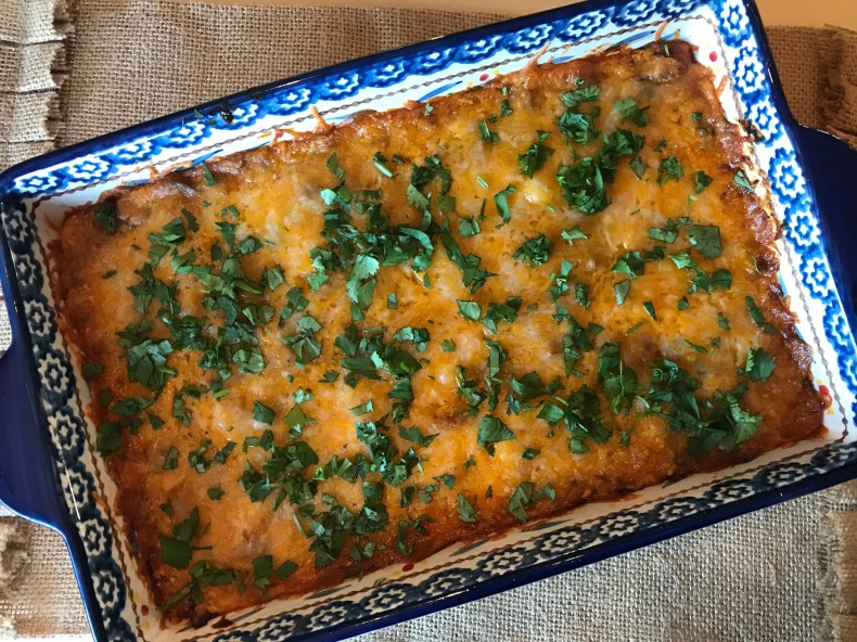 enchilada casserole final