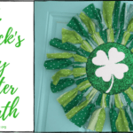 St. Patrick's Day Glitter Wreath