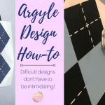 Easy Argyle Design DIY
