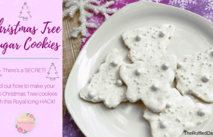 Christmas Tree Cookies with Royal Icing SECRET