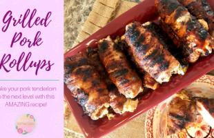 Grilled Pork Tenderloin Roll-ups