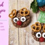 Rudolph Rice Krispie Treats DIY – 15 minutes!