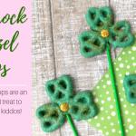 Shamrock Pretzel Pops – Easy St. Patrick's Day Treat
