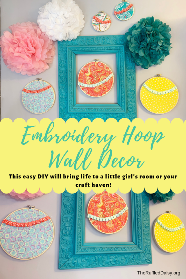 Fabric and Embroidery Hoops PIN