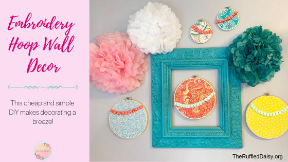 Fabric and Embroidery Hoops