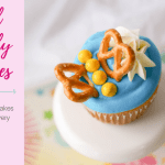 Easy Pretzel Butterfly Cupcakes
