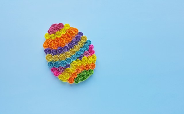 Quilled Easter Egg
