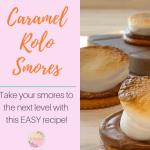 Easy and Delicious Caramel Rolo S'mores