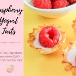 Quick and Easy Raspberry Yogurt Tarts