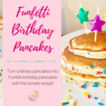 Easy Funfetti Birthday Pancakes
