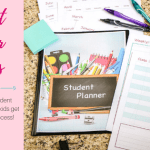Student Planner Success Tips with FREE Download