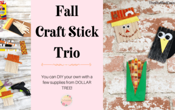 Fall Craft Stick Trio
