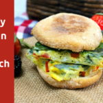 Easy Make Ahead Mexican Egg Sandwich