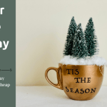Dollar Tree Holiday Mug DIY