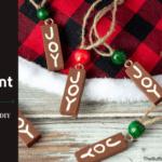 Dollar Tree Joy Ornament