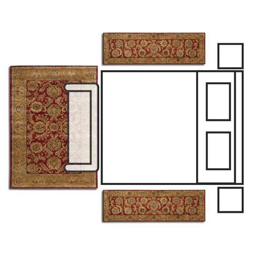 How to pick the right rug size for your room - 6x9 bedroom rug