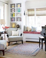 Examples of rug layering techniques