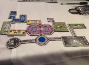 My first castle in Castles of Mad King Ludwig