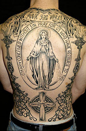 <em>Virgin Mary, back piece</em>
