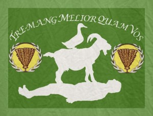 Tremanner Flag