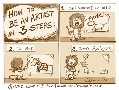 17 drawing how to be an artist w500