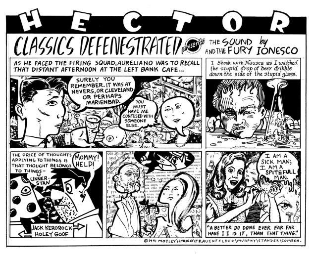 Classics Defenestrated, a Hector jam, 1991